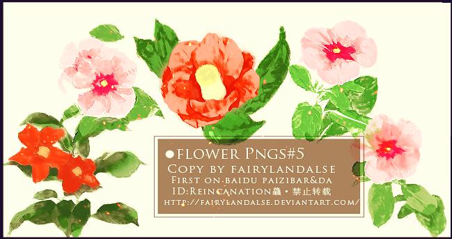 Flower-pngs by Fairylandalse