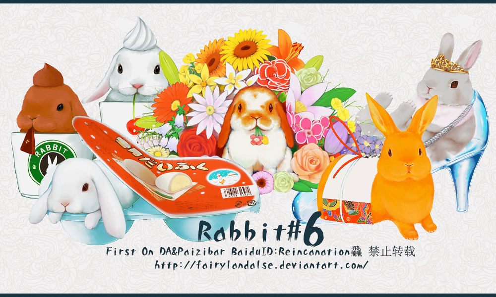 rabbit pngs by Fairylandalse