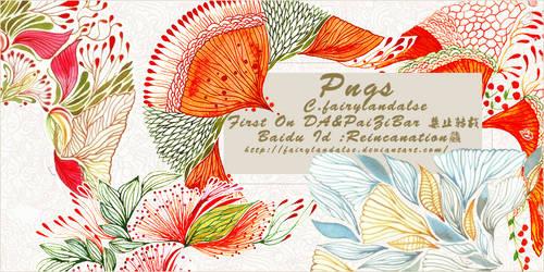 pattern pngs by Fairylandalse