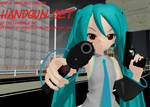 [MMD + M3 Accessory] Handgun + DL