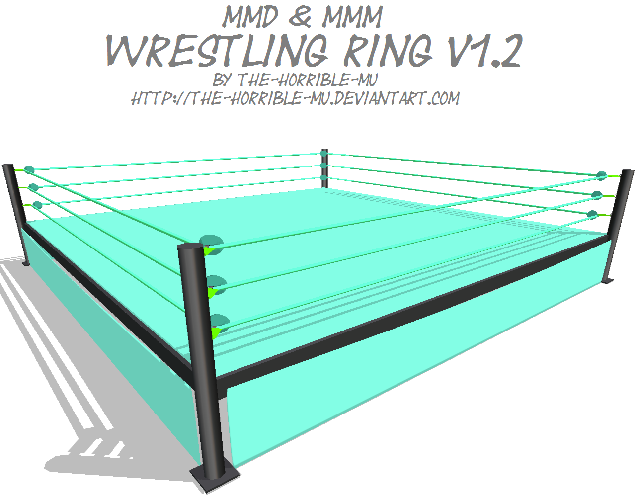 MMD + M3] Wrestling Ring V1 2 by The-Horrible-Mu on DeviantArt