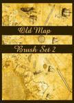 Old Map Brush Set II