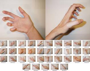 Fem!Hands 1 Stock by MostlyGuyStock