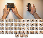 Male!Hands 3 Stock (Holding Cell Phone)