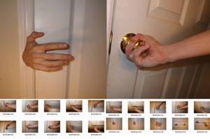 Male!Hands 4 Stock (Door + Handle) by MostlyGuyStock