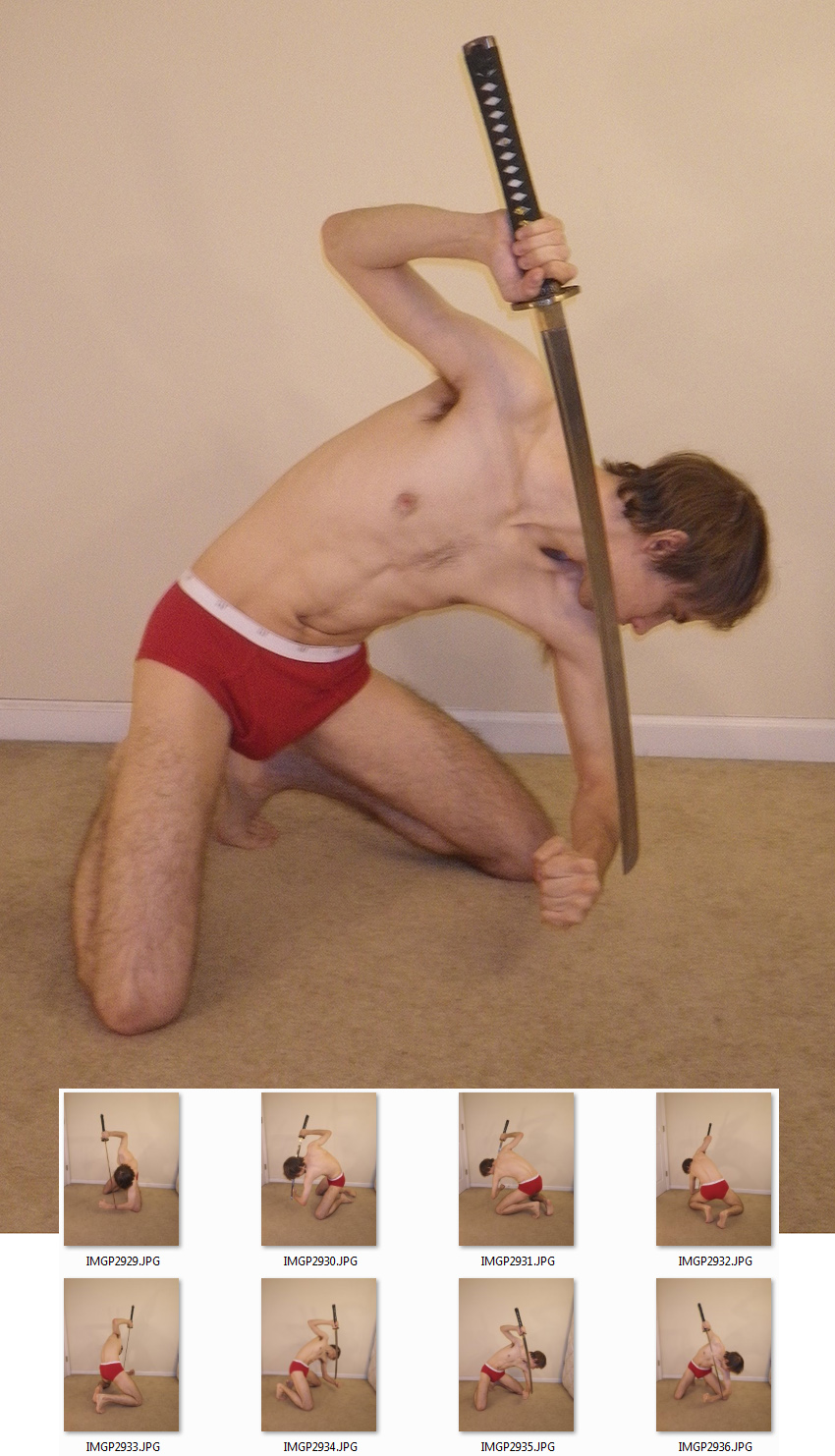 Samurai Sword 2 [C] by MostlyGuyStock