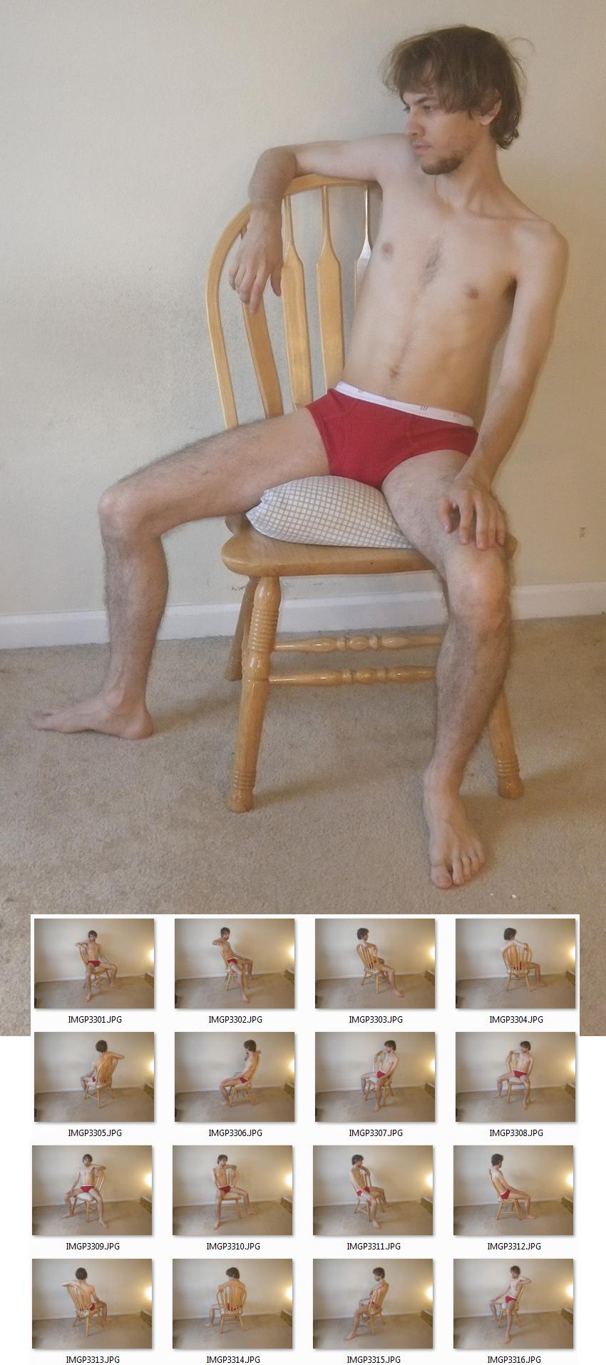 Sitting 7 [C] by MostlyGuyStock