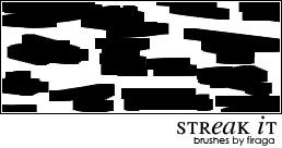 Small Streak Brushes by fira-firaga