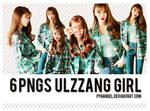 6PNGs Ulzzang Girl