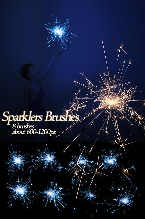 Brushes: Sparklers