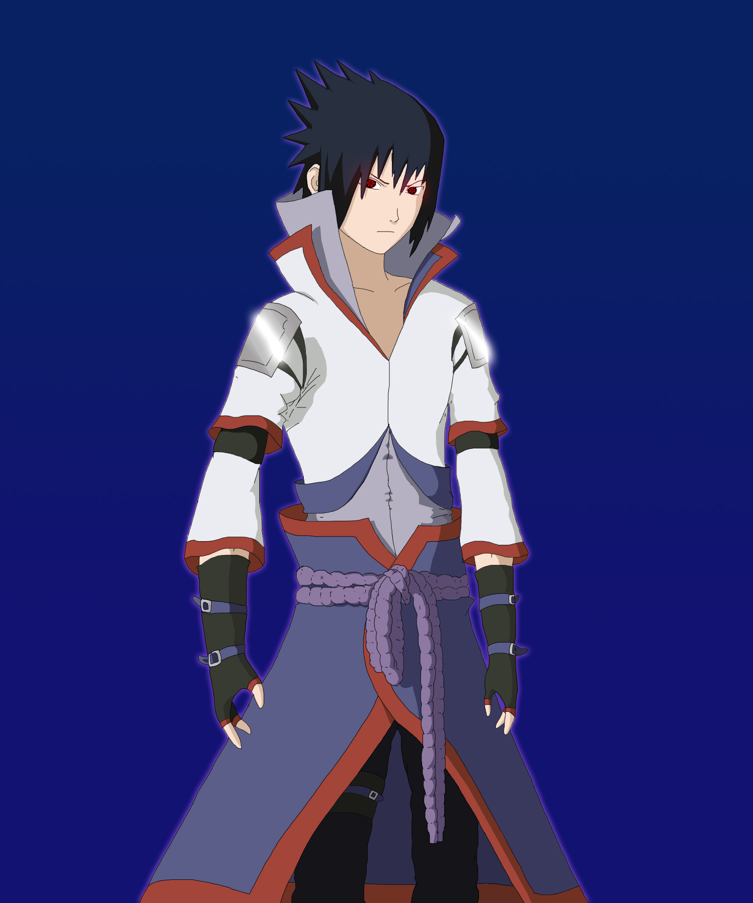 Sasuke uchiha (costume invented by me) by SebaMonto on ...