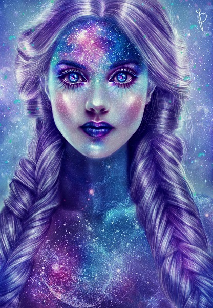 Galaxy Queen (animation) by Mysterii-Art