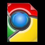 Google Chrome File Type Icon
