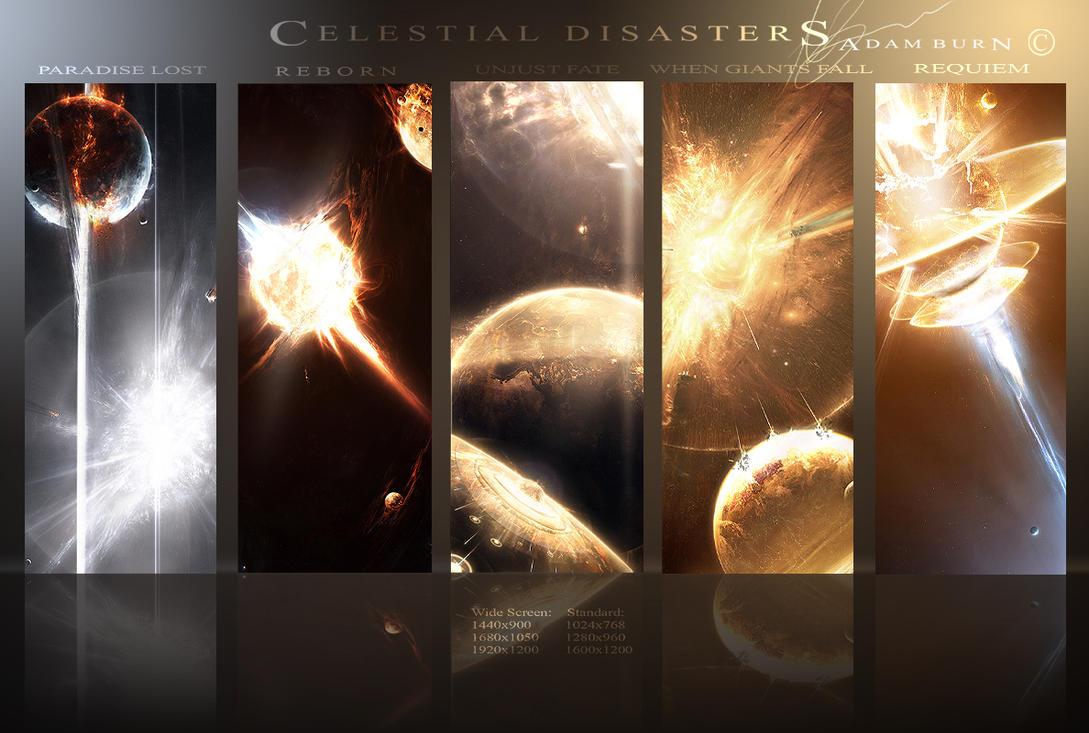 Celestial Disasters by AdamBurn