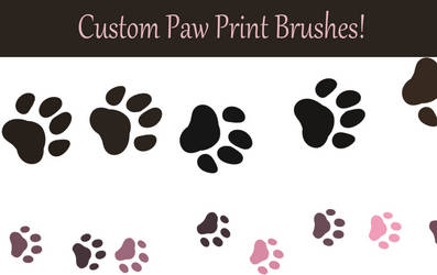 Paw Brushes by devilSwirl