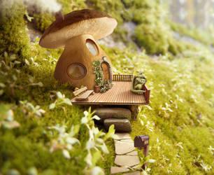 Mushroomhouse by GestiefelteMieze