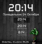 Digital Clock RUS