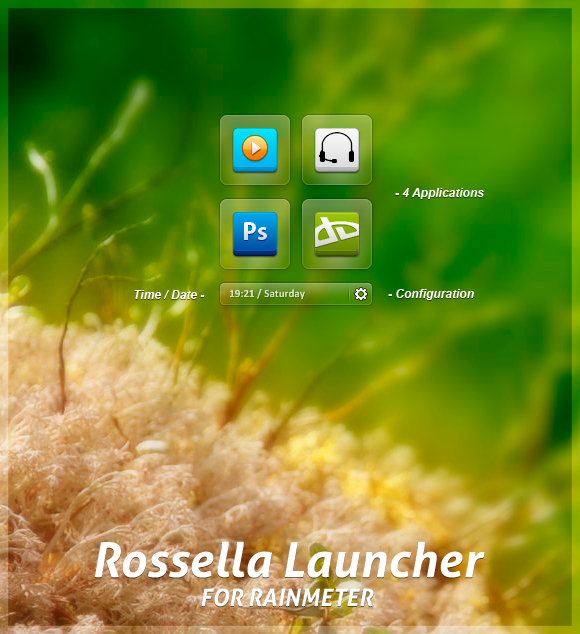 Rossella Launcher 1.0 by BesQ