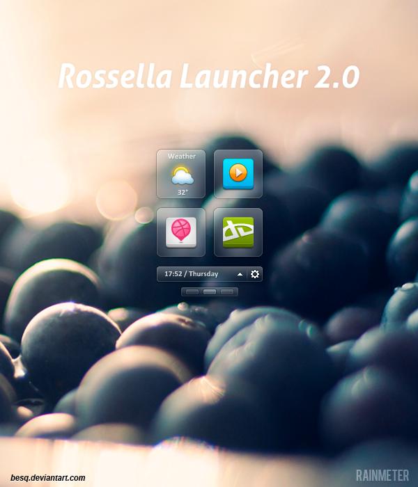 Rossella Launcher 2.0 by BesQ