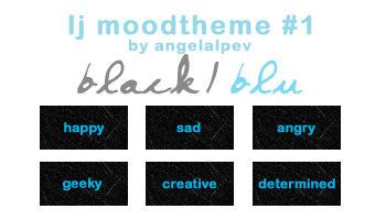 Black-Blu moodtheme by angelalpev