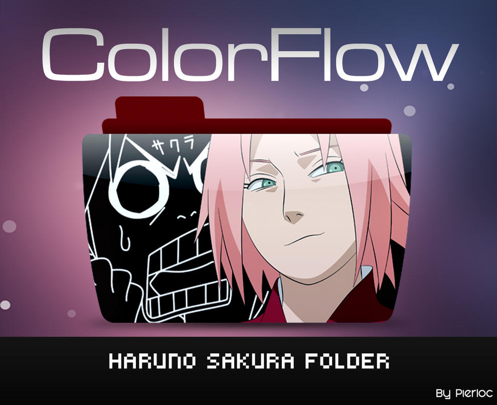 Colorflow Haruno Sakura by pierloc