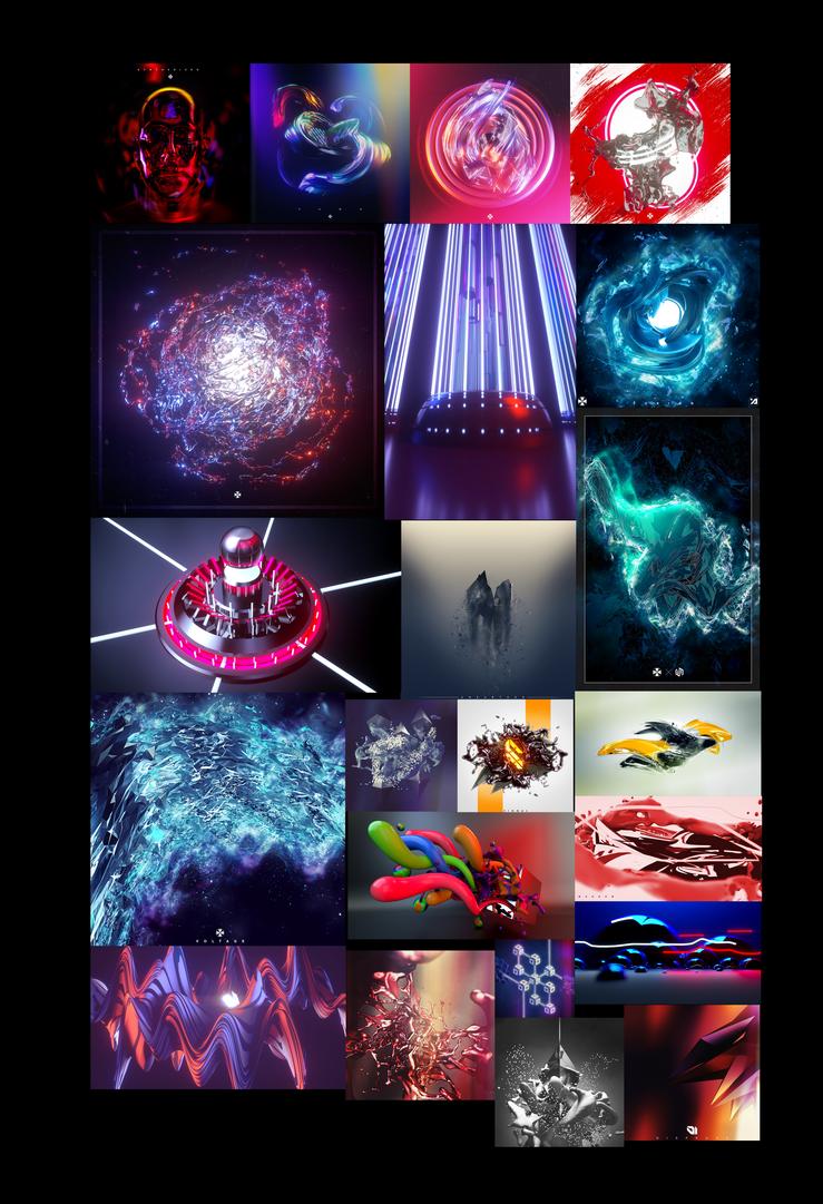 Artworks - late 2014 - June 2015 by Crusader--Arts