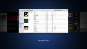 Aqua Inspiriat iTunes 10.2