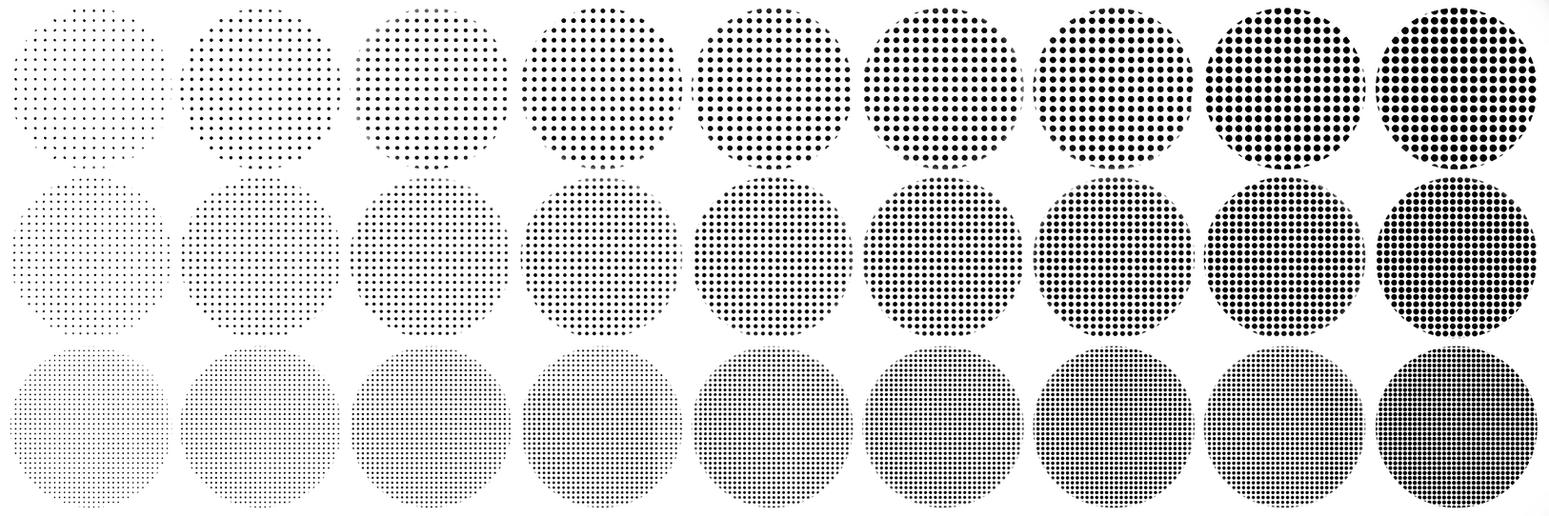 Halftone Brush Textures For SAI Edit By Immuni