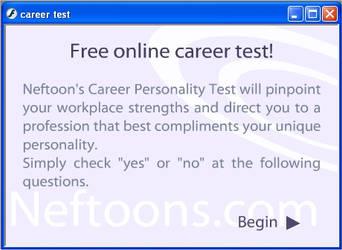 Neftoons Career Test by nef