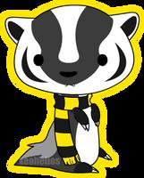 Hufflepuff Badger by Xeohelios