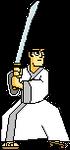 MUGEN: Samurai Jack Black line version by Placemario