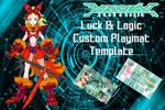 Luck and Logic Custom PlayMat Template by OricaMakr