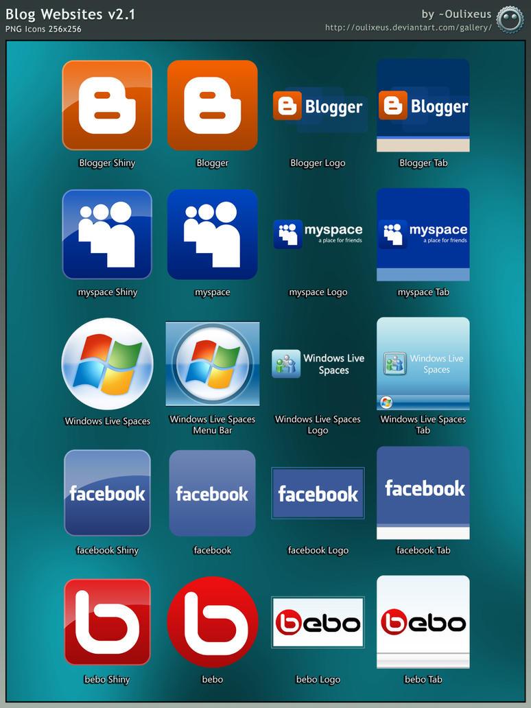 Blog Websites v2.1 by Oulixeus
