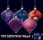 PSD Christmas balls 1
