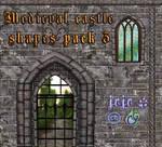 Medieval castle shapes pack 3