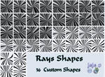 Rays Shapes