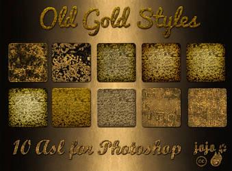 Old Gold Styles by jojo-ojoj