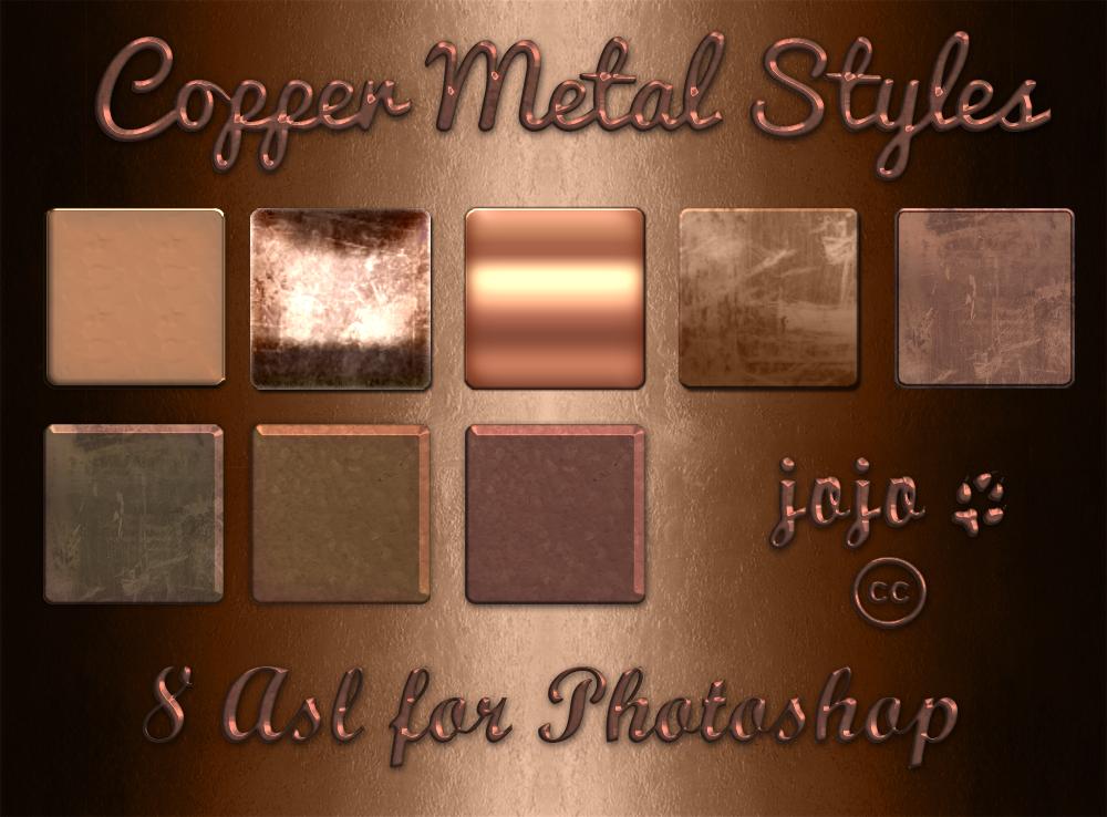 Copper Metal Styles