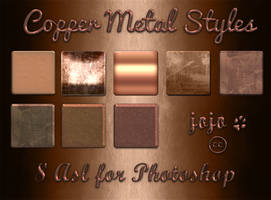 Copper Metal Styles by jojo-ojoj
