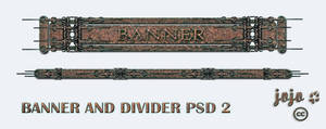 Banner and divider PSD 2 by jojo-ojoj