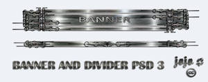 Banner and divider PSD 3