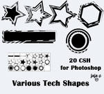 Various Tech Shapes