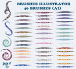 Brushes Illustrator (AI)