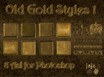Old gold styles 1