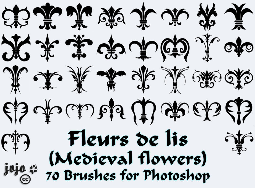 brush fleur photoshop cs5