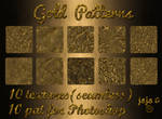 Gold Patterns (seamless textures)