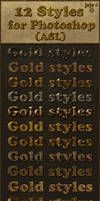 Gold styles ASL