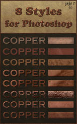 Old copper (various) styles