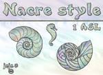 Nacre style