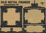 Old metal frames